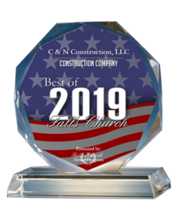 Falls Church 2019 award for best construction company